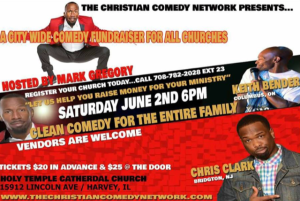 The Christian Comedy Network Family Comedy Show @ Holy Temple Cathedral