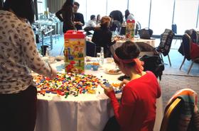 lego sculpting team building