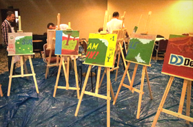 painting workshop big picture teamwork
