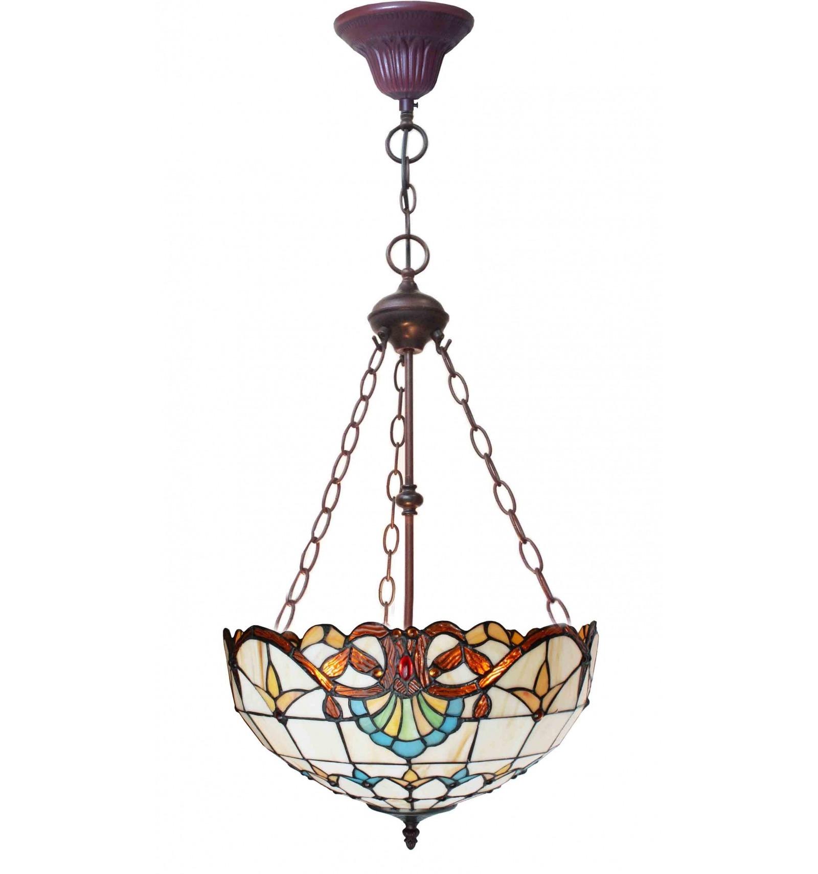 tiffany inverted ceiling light paris art nouveau series