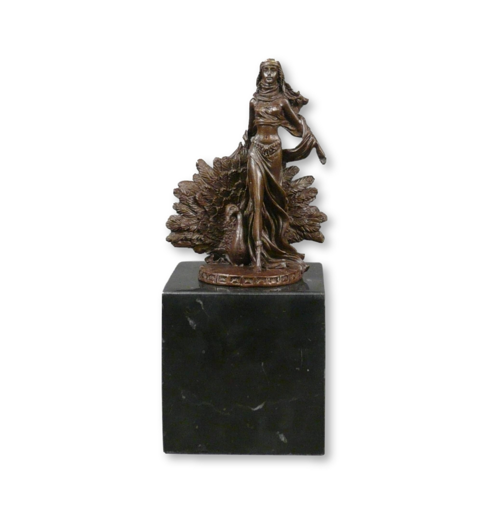 Bronze Statue Of The Goddess Hera Statues Of Greek And