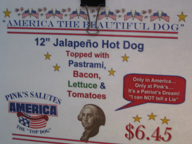 America the Beautiful Dog!