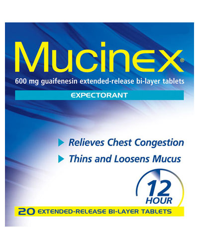 Mucinex makes you sexy.
