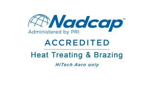 HTG Ohio - HiTech Aero Nadcap Accreditation - Heat Treating & Brazing Services
