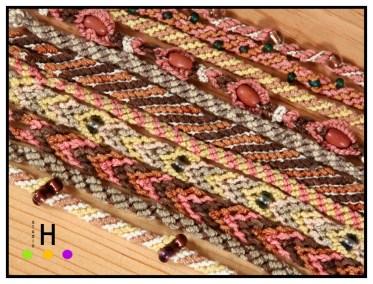 naturally dyed bracelets 1 blog