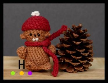 crochet beaver
