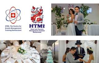 """Bohemian Wedding Event"" organised by the Centre for Events Management Training"