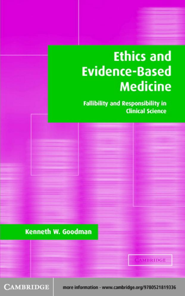 Ethics And Evidence Based Medicine Pdf Txt