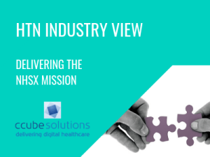 HTN Industry View: Delivering the NHSX mission