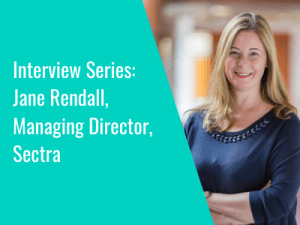 Interview Series: Jane Rendall, MD, Sectra