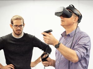 Virtual reality as a psychological tool highlighted in NHSX blueprint