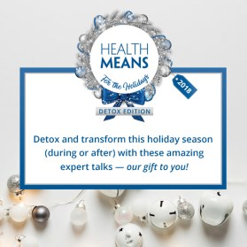HealthMeans For The Holidays