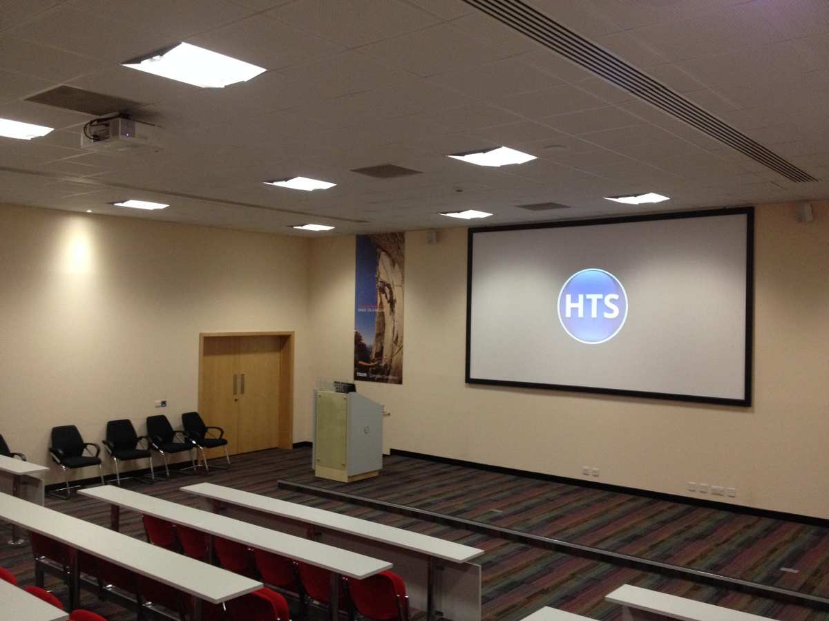 Supply and installation of a projection system in a lecture theatre