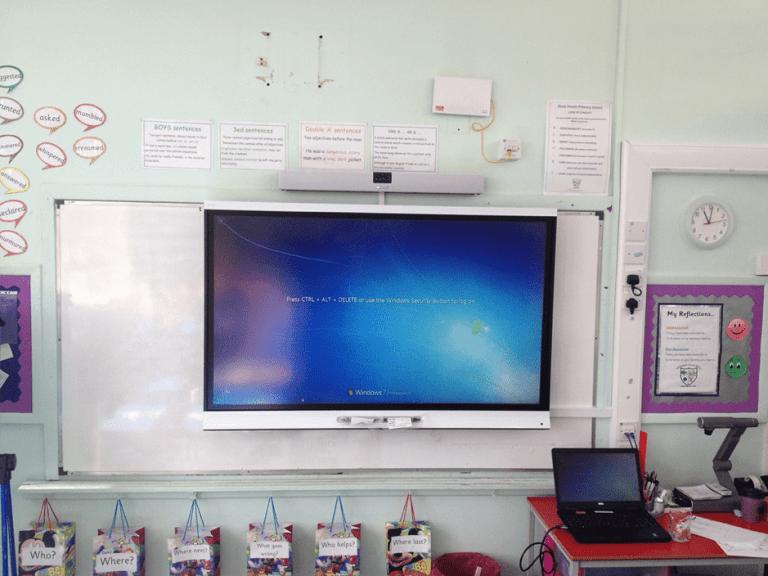 HTS installation a Cranham Primary School Worcester