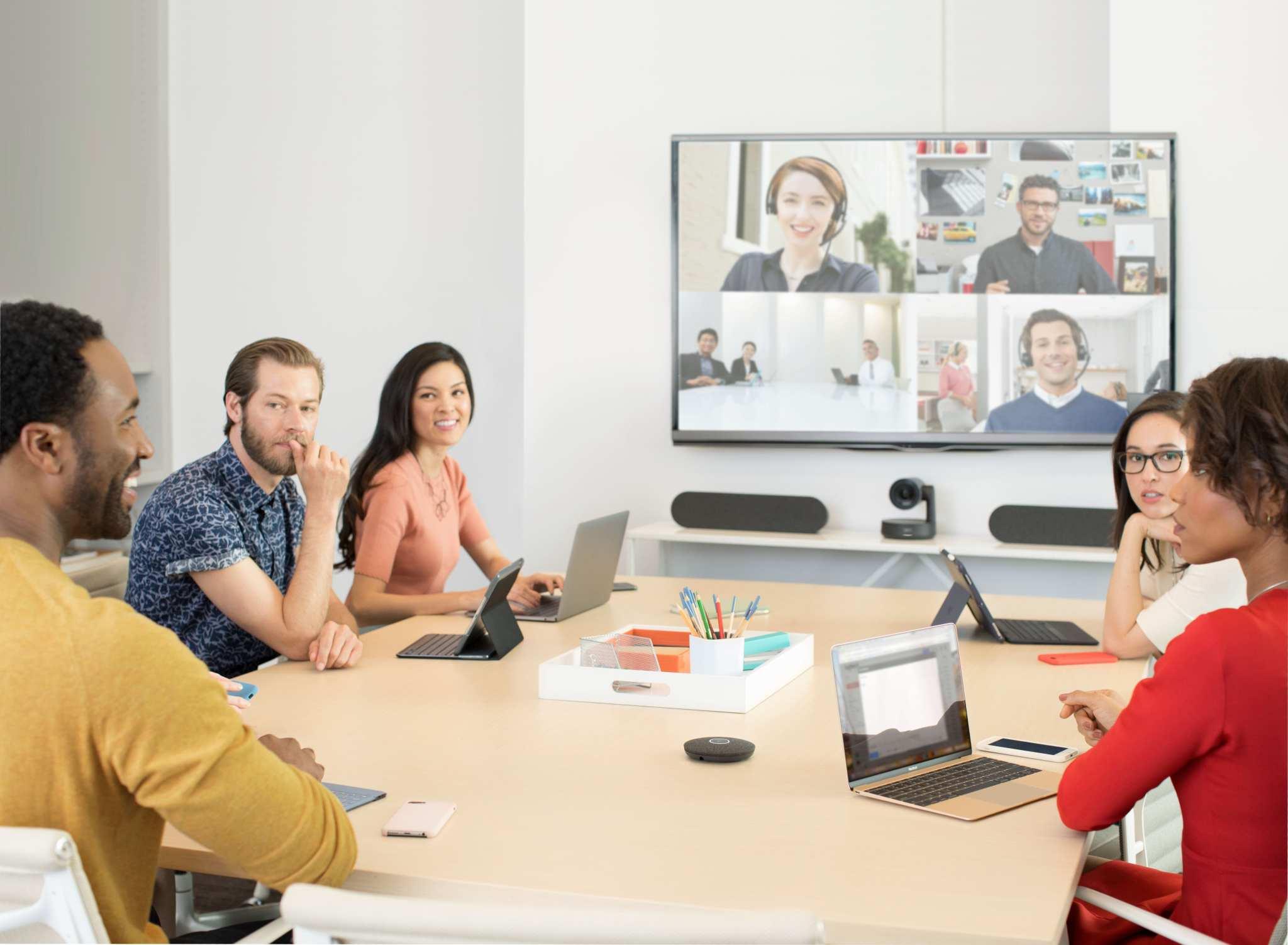 Video conference system logitech