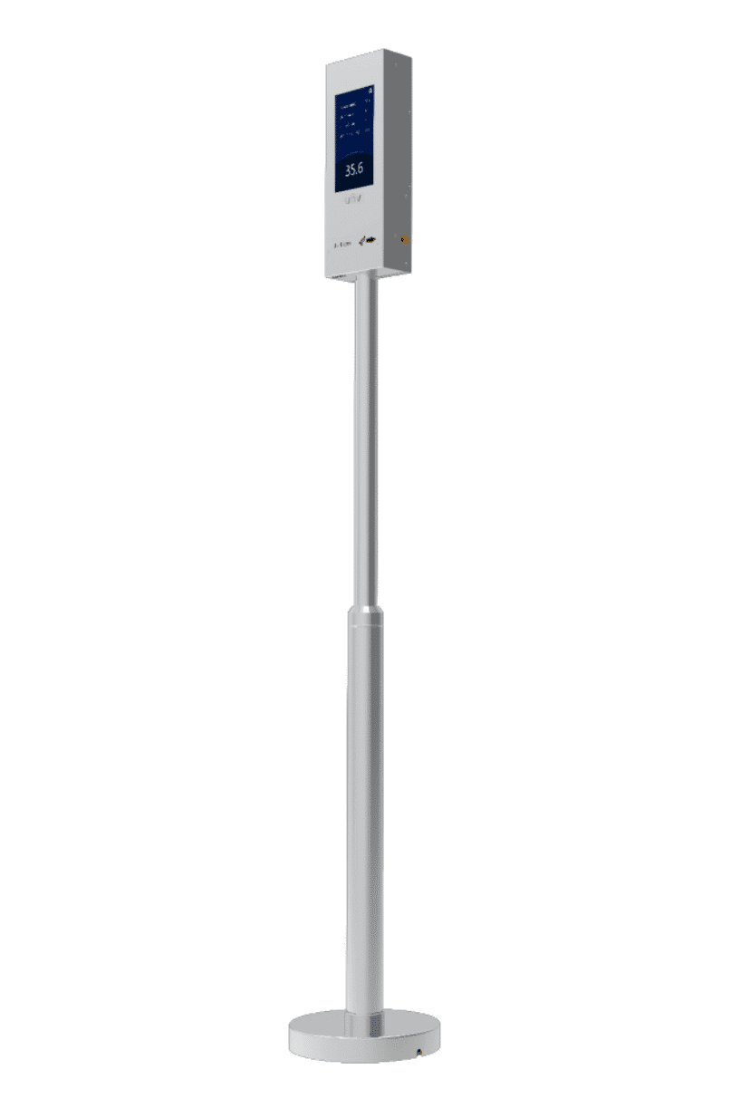 temperature detection pole