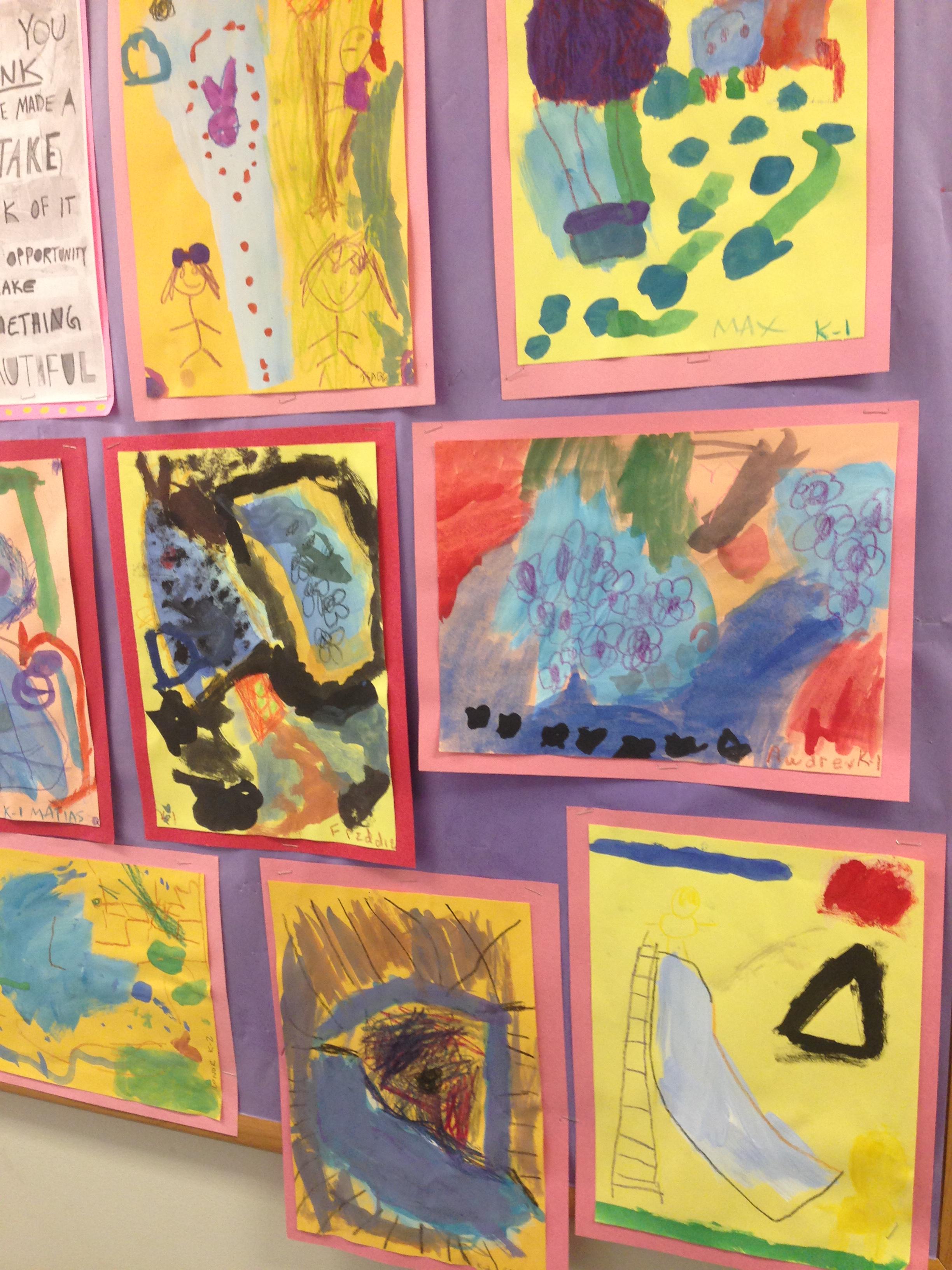 Beautiful Oops With Kindergarten And Pre K Hts Art Studio