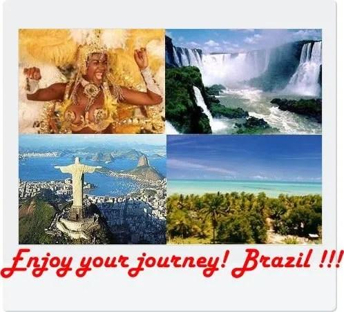 In Viaggio con Noi…Destinazione Brasile!