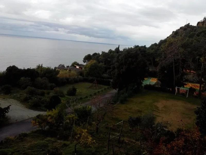 Panorama dal Ristorante Resort