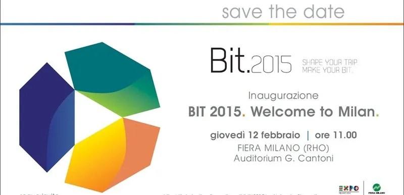 BIT 2015 : dalla parte del Turismo internazionale