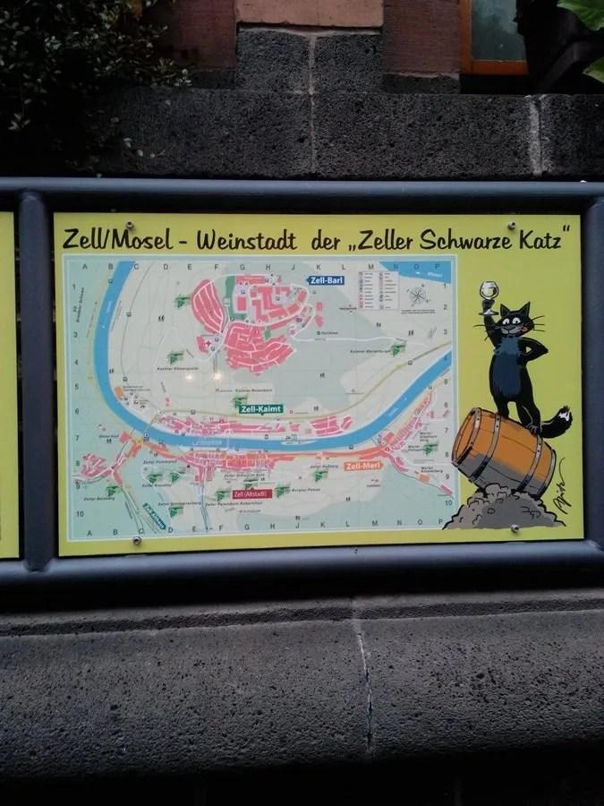 In Centro - mascotte, Schwarze Katz
