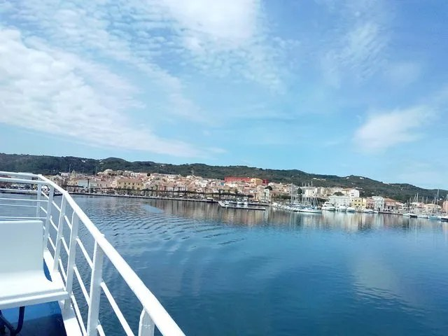 Carloforte - Ferry boat from Sardinia
