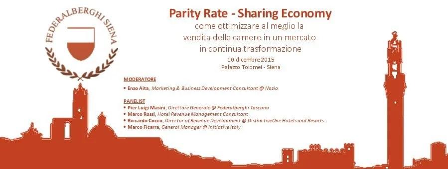 Slide di presentazione - Sharing economy Siena