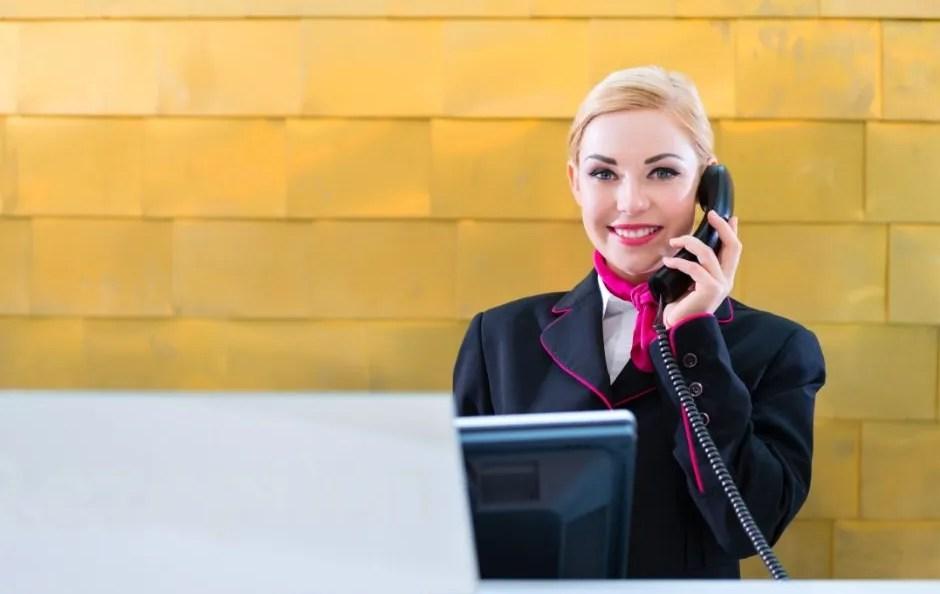 Come essere un buon receptionist