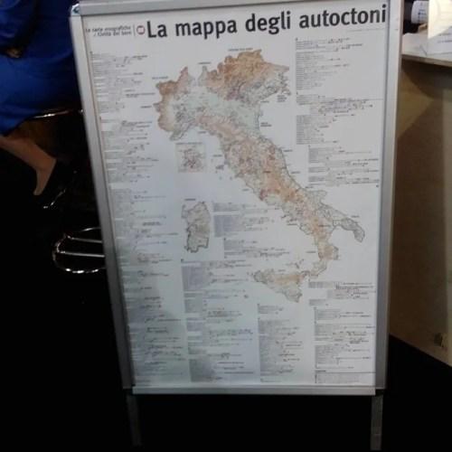 Mappa degli Autoctoni