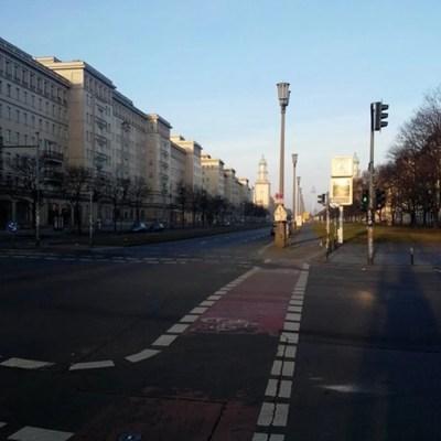 Samariterstrasse - quartiere Friedrichshain