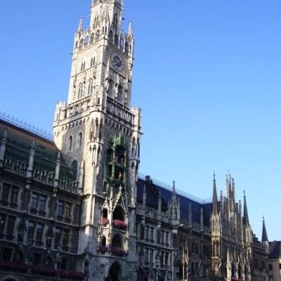 Muenchen-Marienplatz-Rathaus