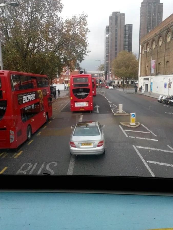 Bus turistico - verso Westminster