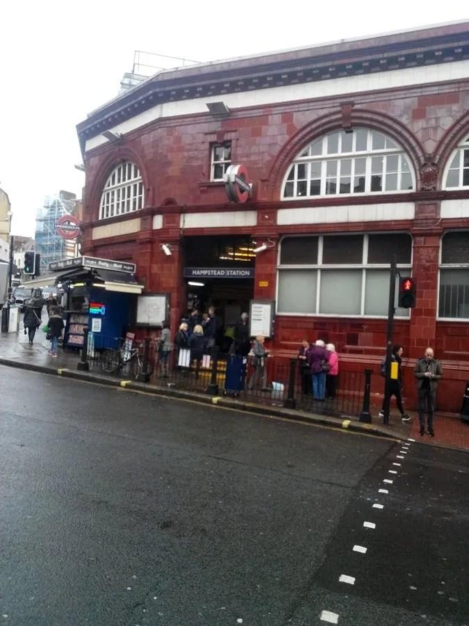 Hampstead - stazione