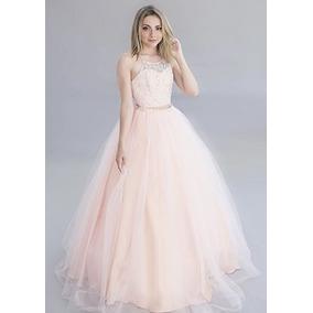 f28ba77a7a Vestidos De 15 Color Salmon Largos Mujer En