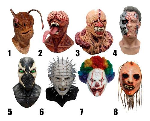 Catalogo Mascaras Halloween Dia Muertos Disfraz Terror Delux Mercado Libre