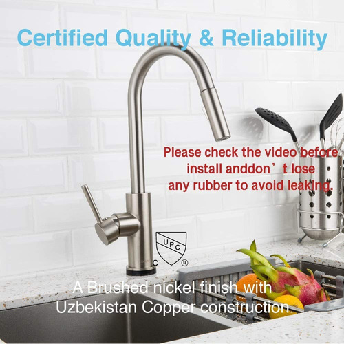 forious touch kitchen faucets with pull down sprayer kitche