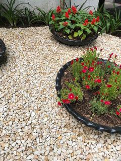 decoracion de exterior piedras para