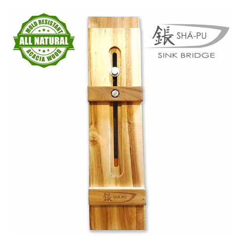 acacia wood whetstone sharpening sink bridge 384 900 00