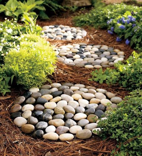 piedra para jardin canto rodado de rio tejo plato bolsas