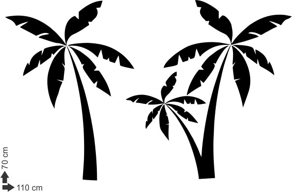 Trees Drink Palm Logo Two