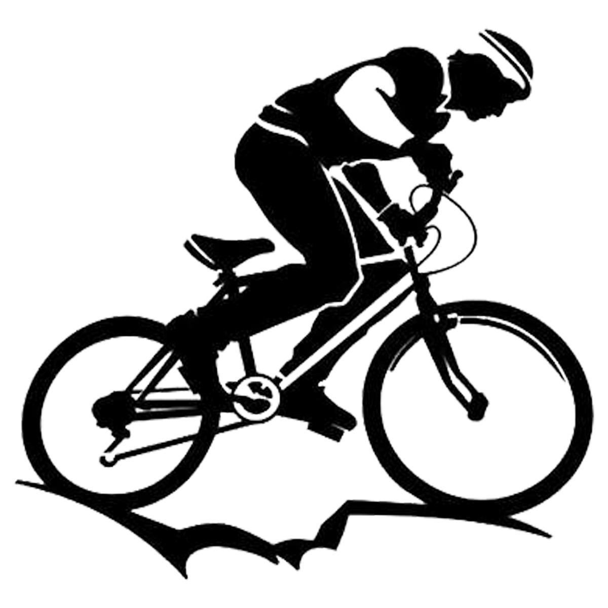 Adesivo Decorativo Ciclismo Mountain Bike Esportes 16cm