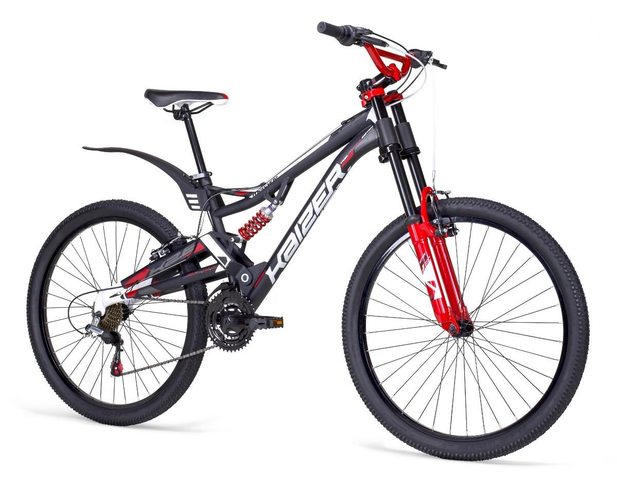 Bicicleta Mercurio Kaizer Dh Rodada 26 Doble Suspension