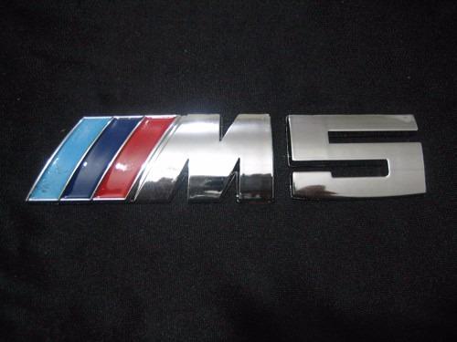 Bmw M5 Logo Maletero Serie 5 E34 E39 E60 E61 F10 525 530