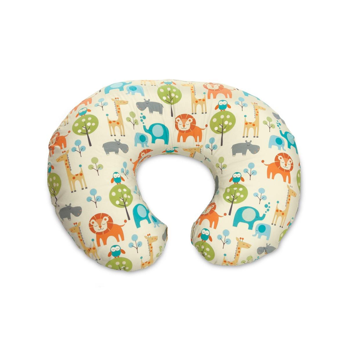 Boppy Nursing Pillow And Positioner Peaceful Jungle 260 900 En Mercado Libre