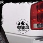 Rustick Oficial Calco Sticker Montanas Ploteo Auto Camioneta 4x4 Off Road 274 85