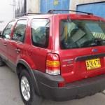 Camioneta Ford Escape 2000 Cc Rojo Fuego 2007 28 000 000 En Tucarro