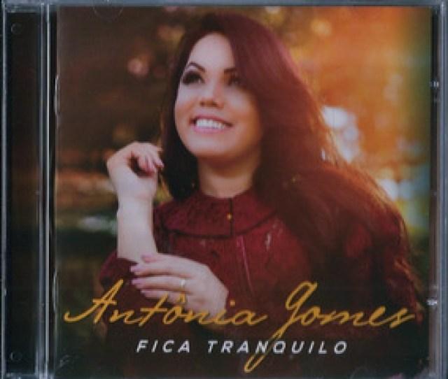 Cd Antonia Gomes Fica Tranquilo Playback Incluso Biblos