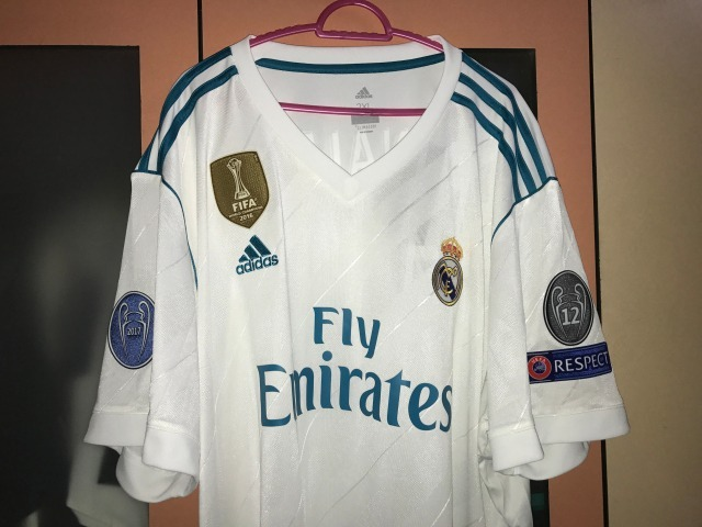 Champions League Jersey Real Madrid Blanca 2018 Envio ...