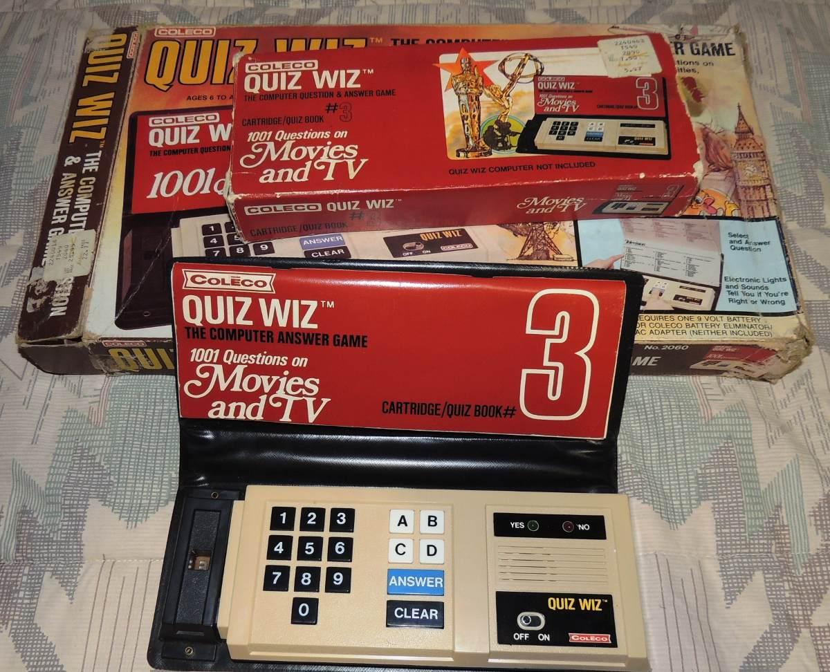 Consola Quiz Wiz De Coleco Epoca De Atari Anos 70 S