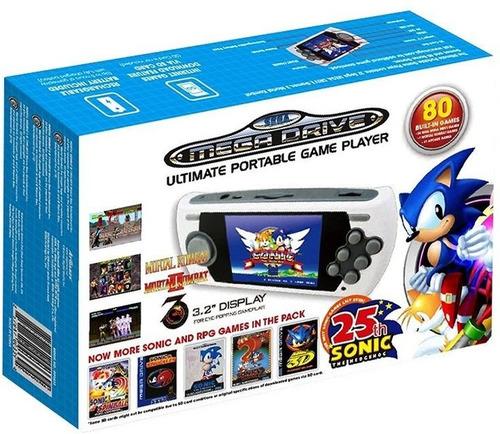 Consola Sega Genesis Portable 2017 Sonic Mortal Kombat 1 2